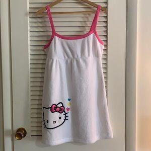 Hello Kitty Towel Dress, Large, New
